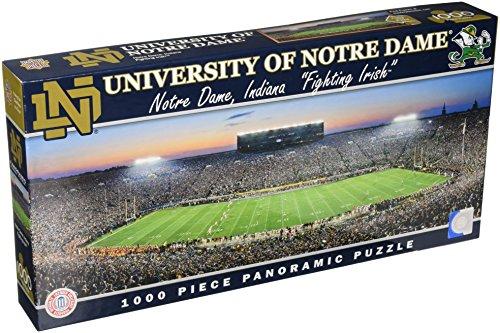 MasterPieces NCAA Notre Dame Fighting Irish Stadium Panoramic Jigsaw Puzzle, 1000-Piece