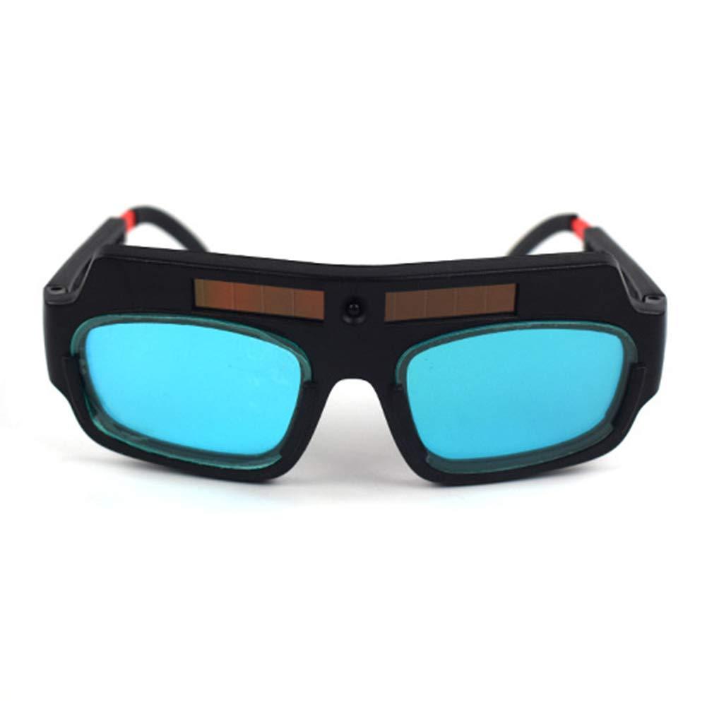 Lunettes de soudure solaires auto-obscurcissantes anti-/éblouissement lunettes de protection de s/écurit/é pour prot/éger vos yeux des /étincelles noir