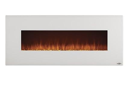 Amazon Com Touchstone 80002 Ivory Electric Fireplace White