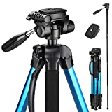 Best Aluminum Tripods - Victiv Camera Tripod Upgraded Version T72 Max. Height Review