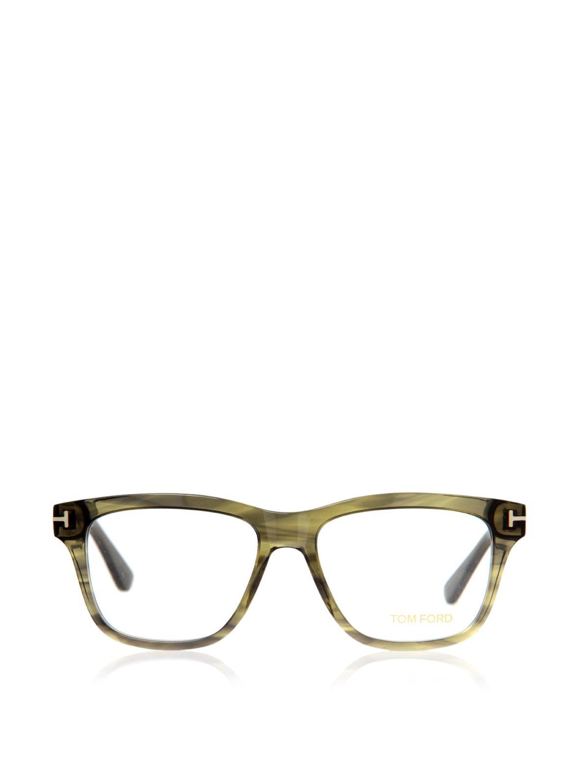 Tom Ford Eyeglasses TF 5372 Eyeglasses 098 Striped Green 54mm by Tom (Image #3)