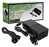 Hanpower Xbox One Power Supply XC101 AC Adapter Replacement Power Charger for Xbox One with Cable 100-240V Auto Voltage, Black