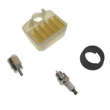 Ansaugkrümmer-Kit Für Luft-Kraftstoff-Filterleitung Für Husqvarna 340 345 350 DE