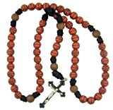 Athlete Protection Basketball Shape Bead 20 Inch Corded Athletic Wear Sports Rosary