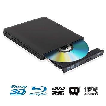 schriftsteller/blu-ray Externe Computer & Büro Ultra Slim 3d Blu-ray Player Tragbare Externe Usb 3.0 Reader/ Schriftsteller Bd-rw Für Apple Macbo