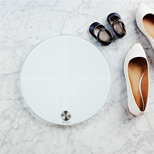 Qardiobase Smart Digital Bathroom Scale Qardio Fitness