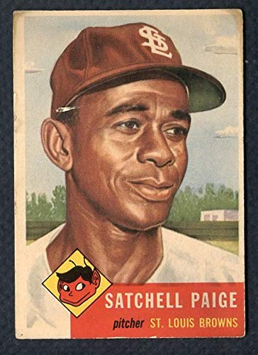 1953 Topps #220 Satchel Paige Browns VG 364972 Kit Young Cards ()