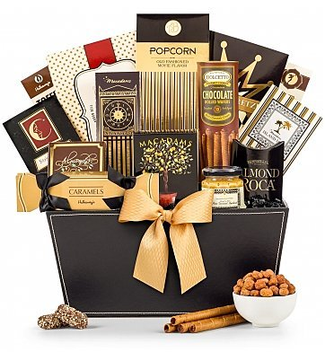 The Metropolitan Gourmet Gift Basket - Premium Gift Basket for Men or Women
