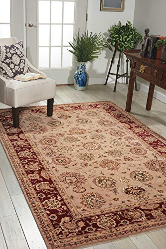 Nourison Nourison 2000 (2205) Camel Rectangle Area Rug, 3-Feet 9-Inches by 5-Feet 9-Inches (3'9