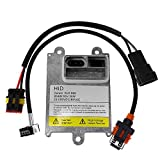 QKPARTS 1x D1S D1R D1C HID Ballast Replacement Stock Xenon Light 35W with AMP Cable