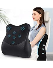 Memory Foam Lumbar Support Cushion for Office Chair Lumbar Support, Lumbar Support Back Pillow for Lower Back Pain Relief