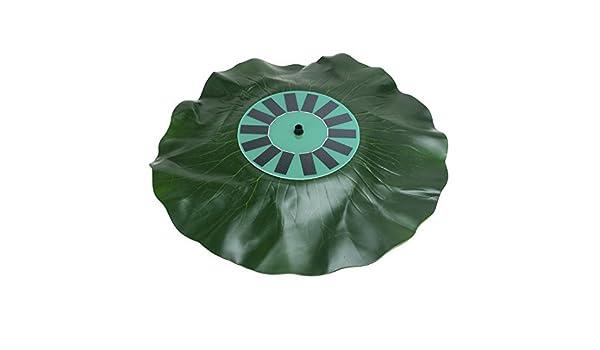 Amazon.com: eDealMax Sin escobillas 1.4W aire Libre Solar de la CC Bomba de agua Fuentes de Agua del aerosol 30-60cm Altura Con Diversified Boquilla de hoja ...