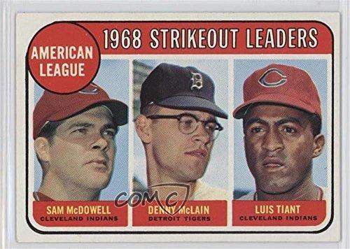 Sam McDowell; Denny McLain; Luis Tiant (Baseball Card) 1969 Topps - [Base] #11