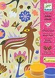 Djeco DJ08662 Colored Sands- Woodland Wonderland Playset