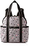LeSportsac Classic Double Trouble Backpack, Stop for Love