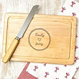 Personalized Cutting Board - Couple Gifts for Housewarming or Engagement - WOOD or SLATE Chopping Boards to choose from!