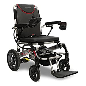 Pride Mobility Jazzy Passport, Folding Travel Electric Powerchair - Lightweight Portable Folding Electric Wheelchair from Pride Mobility