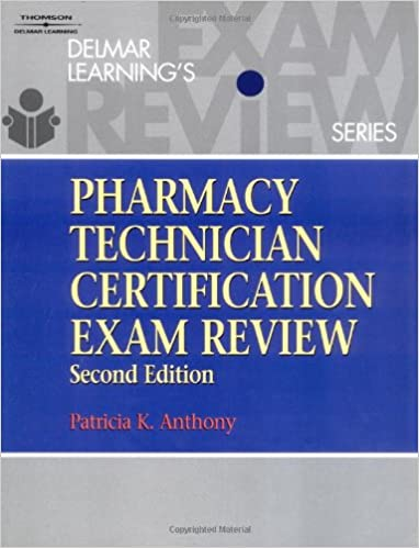 delmar's pharmacy technician certification exam review: dr. patricia ...