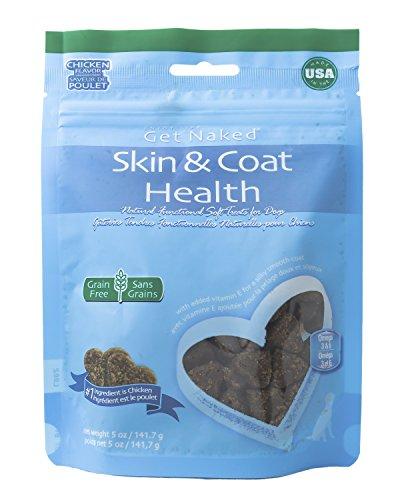 Get Naked 1 Pouch Skin & Coat Soft Dog Treats, 5 Oz