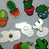 Koolemon 10Pcs Cute Acrylic Fridge Magnets
