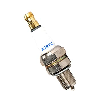 PETSOLA Motosierra A7RTC, CMR7H, L7T, bujía, Accesorios de Motor, fácil de Instalar y Quitar, Plateado, A7RTC: Amazon.es: Hogar