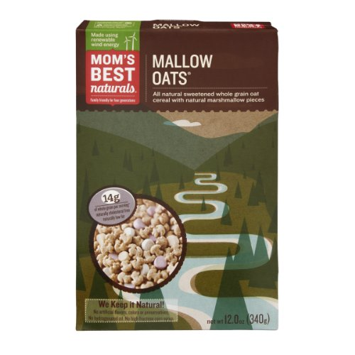 Mom's Best Naturals Oat Cereal Mallow Oats, 12 OZ (Pack of 14)