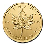 CA 1 Gram Gold Canadian Maple Leaf