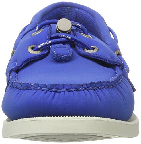 Sebago Docksides Ariaprene Womens Slip On Shoes Blue uANM8Ku