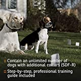 SportDog Brand In-Ground Fence Systems – from the Parent Company of Invisible Fence Brand – Underground Wire Electric Fence – Tone, Vibration, & Static – 100 Acre Capability – Remote Trainer Option, Containment System