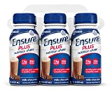 Ensure Plus Nutrition Shake, Milk Chocolate, 8-Ounce Bottle (Pack of 48)
