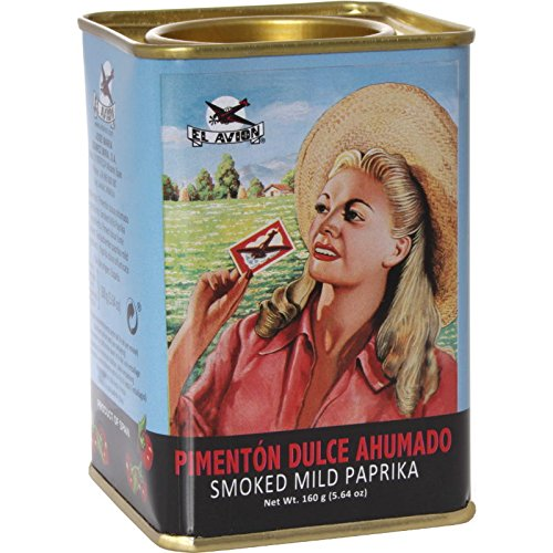 - El Avion Smoked Mild Paprika 5.64 Oz Metal Tin