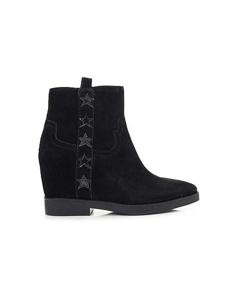 Ash Zapatos Goldie Botines de Ante Negro Mujer: Amazon.es: Zapatos y complementos