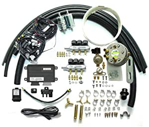 Logas Propane LPG Sequential Injection System Conversion Kits for V5 V6 fuel injected gasoline Vehicle