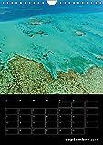 Paysages calédoniens : Un petit tour sur cette merveilleuse île française de Nouvelle-Calédonie. Calendrier mural A4 vertical 2017