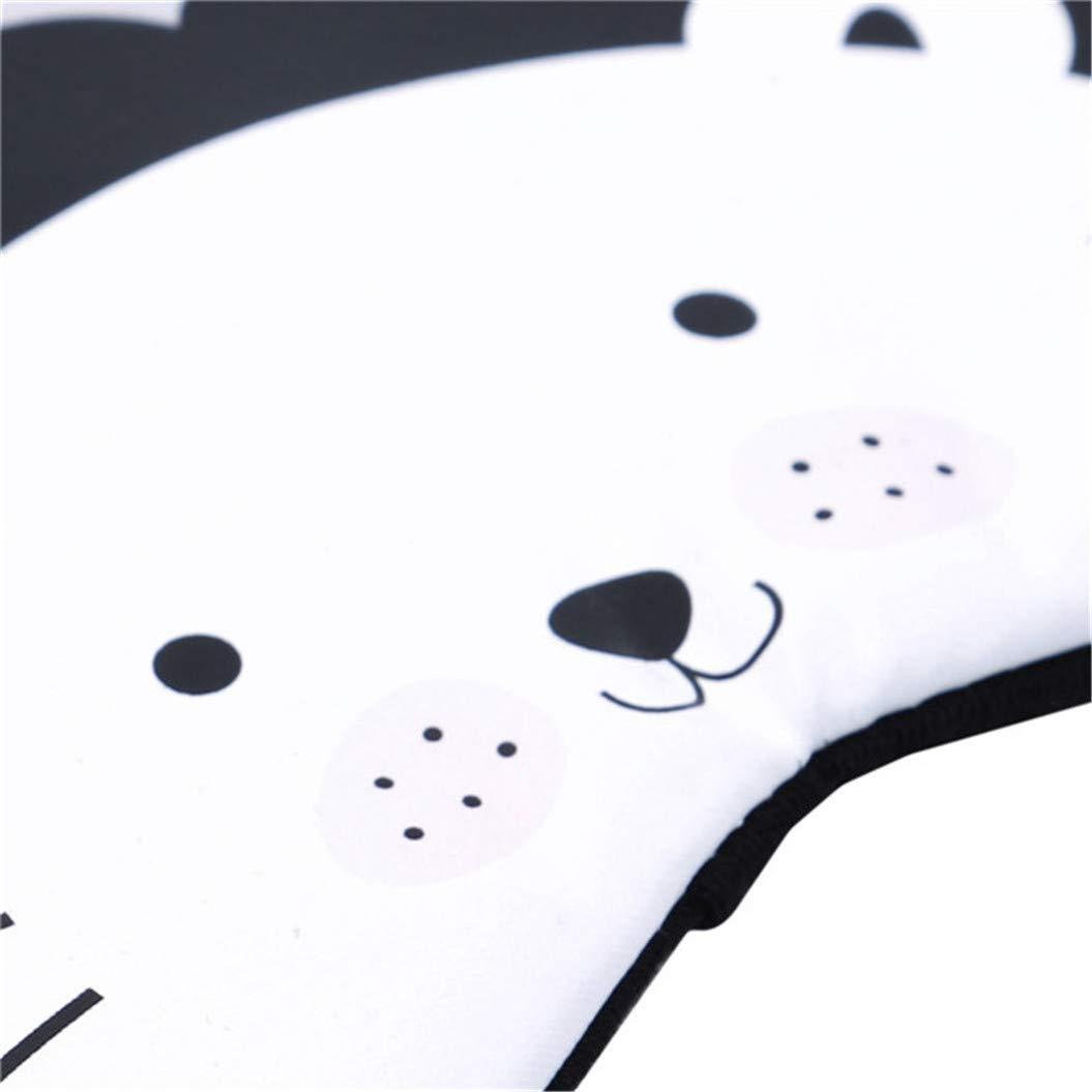 LZIYAN Cartoon Sleep Eye Mask Cute Animal Pattern Eye Mask Blindfold Eye Patch Sleeping Eyeshade Travel Shade Cover,Lion by LZIYAN (Image #6)