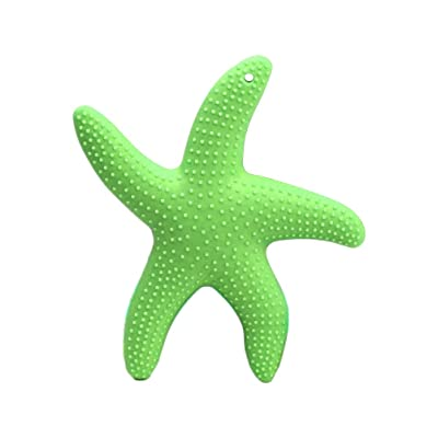 SUPVOX Baby Silicone Teething Toys Baby Pacifier Teethers Infant Molar Teeth Soother Green: Health & Personal Care