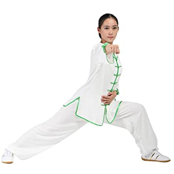 Amazon com : Women's Martial Arts Tai Chi Uniform Kung Fu