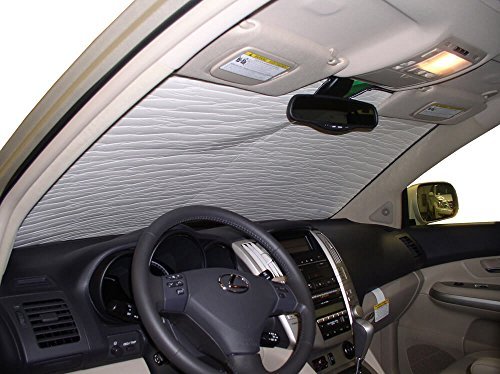 Lexus Rx330 Suv - The Original Windshield Sun Shade, Custom-Fit for Lexus RX330 SUV 2004, 2005, 2006, Silver Series