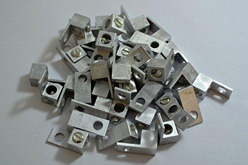 10 Pieces P10 Single Aluminum Ground Lug Block Direct TV Satellite UL ()