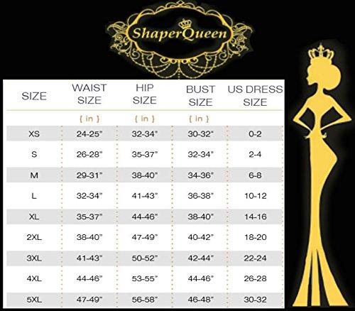 93af3aa0c1d ShaperQueen-103 Women Waist Cincher Girdle Tummy Slimmer Sexy Thong Panty  Shapewear (M