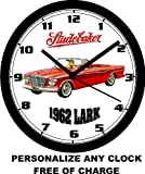 1962 STUDEBAKER LARK CONV. WALL CLOCK-Free USA Ship