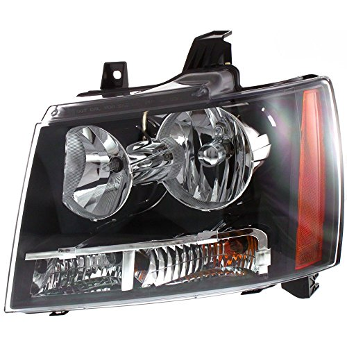Evan-Fischer EVA13572020143 Headlight for TAHOE 07-14 LH Composite Assembly Halogen - CAPA With Bulb(s) Driver Side