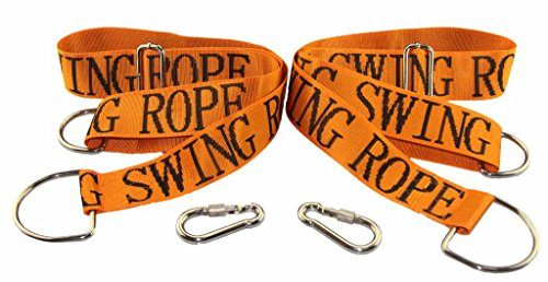 Length Buckle (HIG SPORTS Tree Swing Straps , Length Can Be Adjusted Safe, Fast and Easy Installation, Swing Rope with Heavy-Duty Hooks, Perfect for Tree Swing and Hammocks, Set of)
