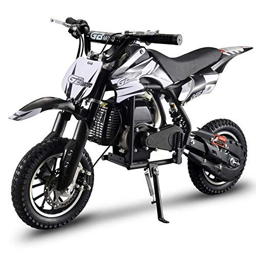 V-Fire 2-Stroke 49CC Gas Dirt Bike Mini Motorcycle (EPA Registered, No CA Sales) (Black)
