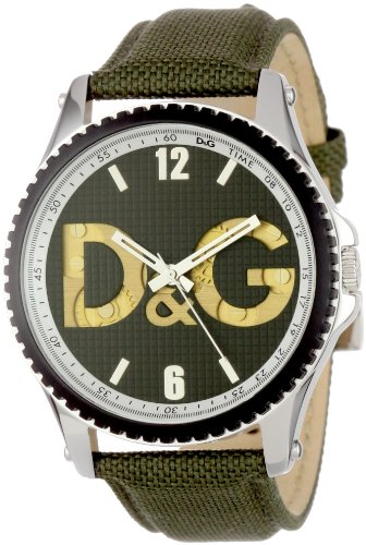 D&G Dolce & Gabbana Men's DW0705 Sestriere Round Analog Watchgear Dial Detailed Watch