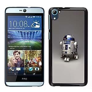 LECELL--Funda protectora / Cubierta / Piel For HTC Desire D826 -- Robot R2D2 --