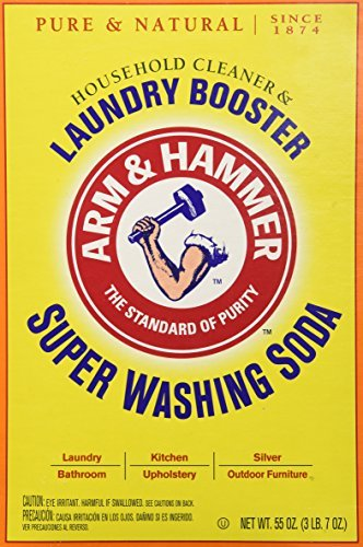 Church   Dwight Co 03020 Arm   Hammer Super Washing Soda 55 Oz  By Arm   Hammer