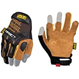 Mechanix Wear - Leather M-Pact Framer Gloves (Medium, Black/Brown)