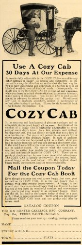 1911-ad-fouts-hunter-carriage-manufacturing-cozy-cab-original-print-ad