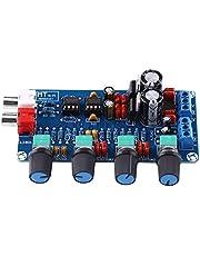 iFCOW Módulo de Placa de Control de Preamplificador Amplificador de Amplificador Operacional de Alta Fidelidad Ne5532 Placa de Ensamblaje de Control de Tono de Volumen de
